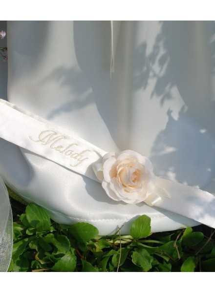 dopdiadem with rose and name