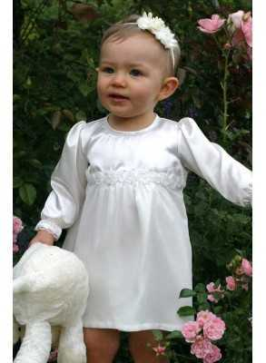 After Baptism dress with roses