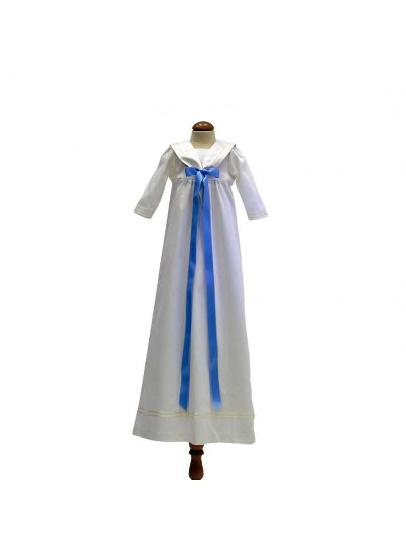 Christening gown Sailordress off white