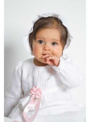 Christening Gowns Tradition White linen beautiful baptismal clothing from the grace of Sweden for girls