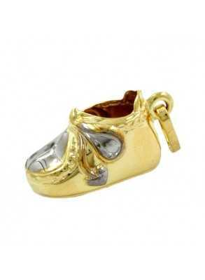Baby-shoe in gold