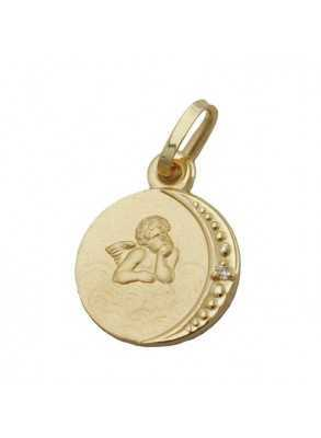 Jewelry with angel in gold