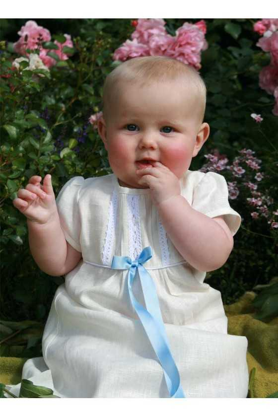 Christening gown, with...