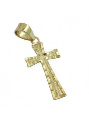 Gold cross for necklace